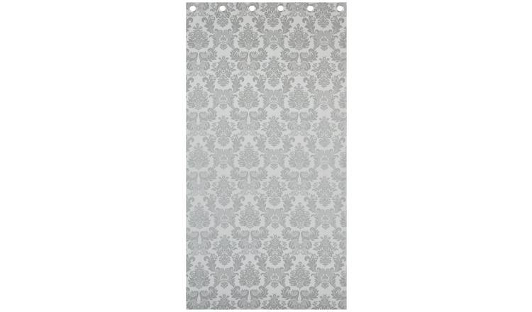 Catherine Lansfield Damask Jacquard Curtains - 168x229cm.