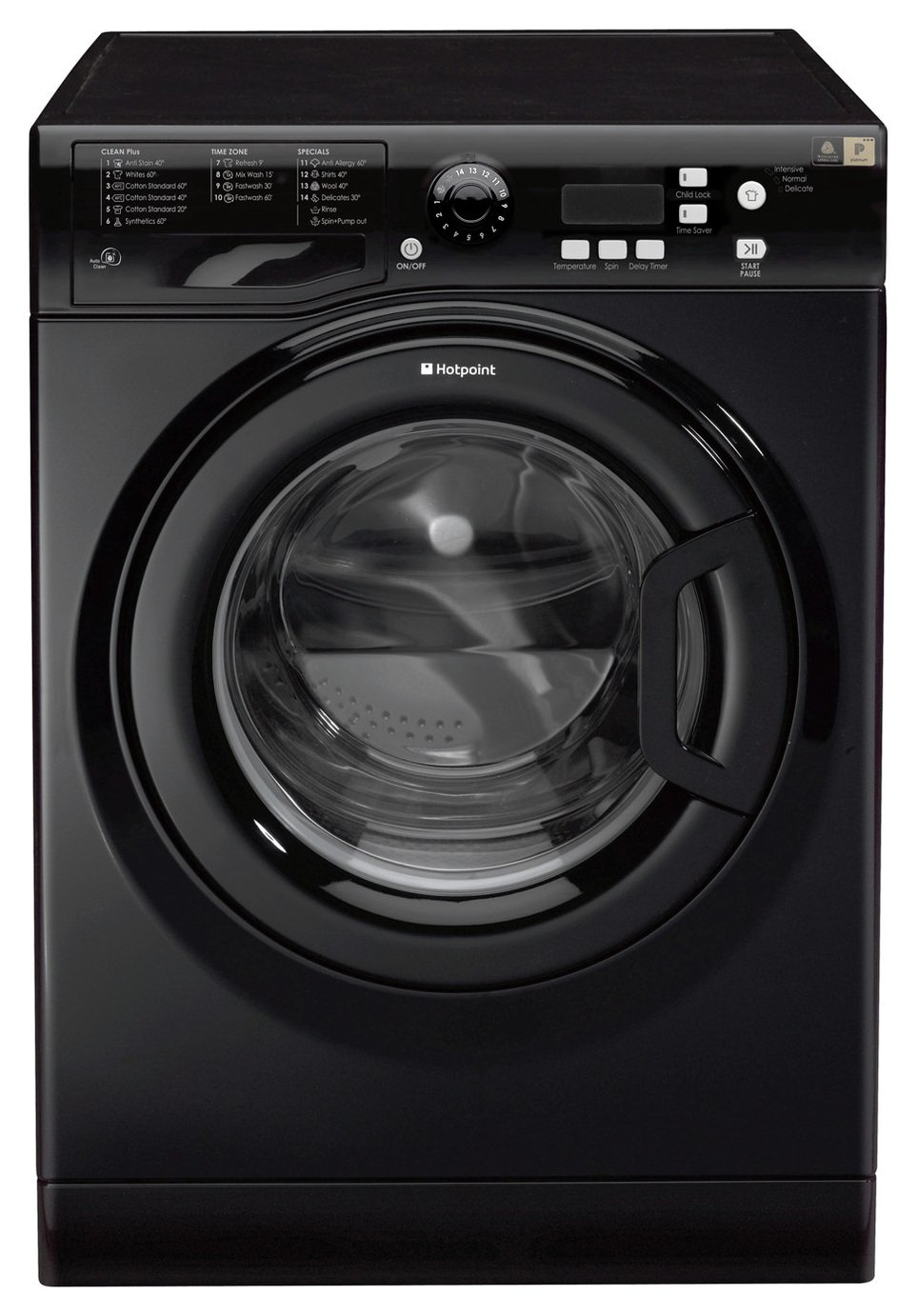 Hotpoint WMXTF842K.R 8KG 1400 Spin Washing Machine - Black