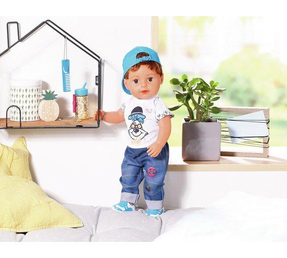 buy baby born brother doll dolls argos