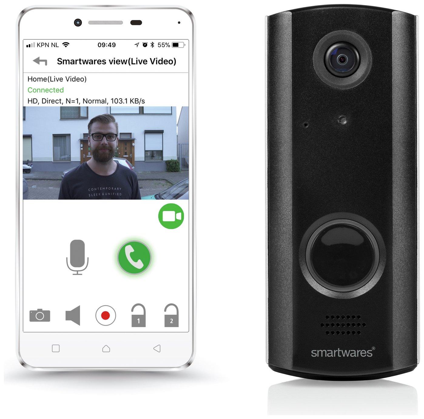 Byron WiFi Rechargeable Video Doorbell