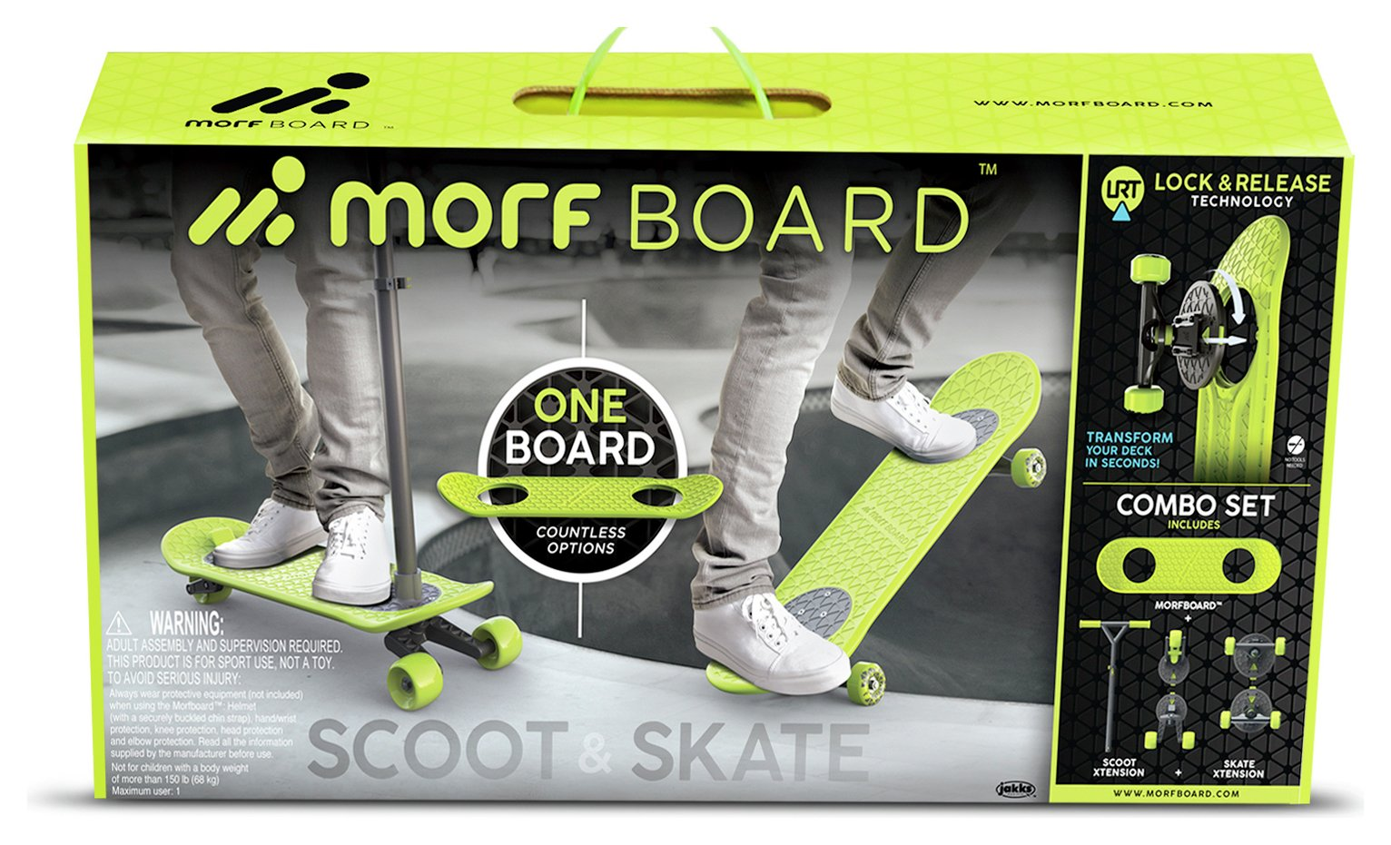 Morfboard Skate and Scoot Combo Set