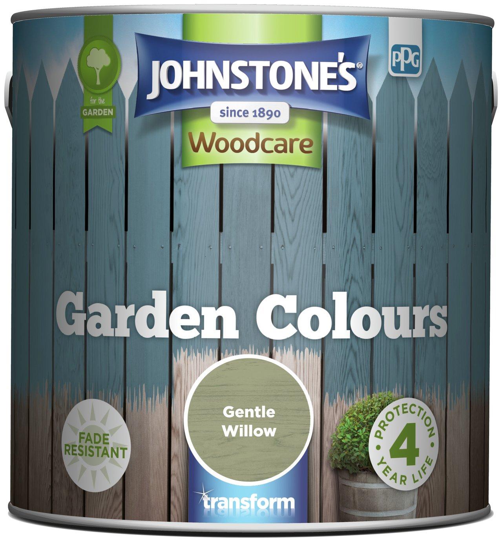 Johnstone's Garden Paint 2.5 Litre - Gentle Willow