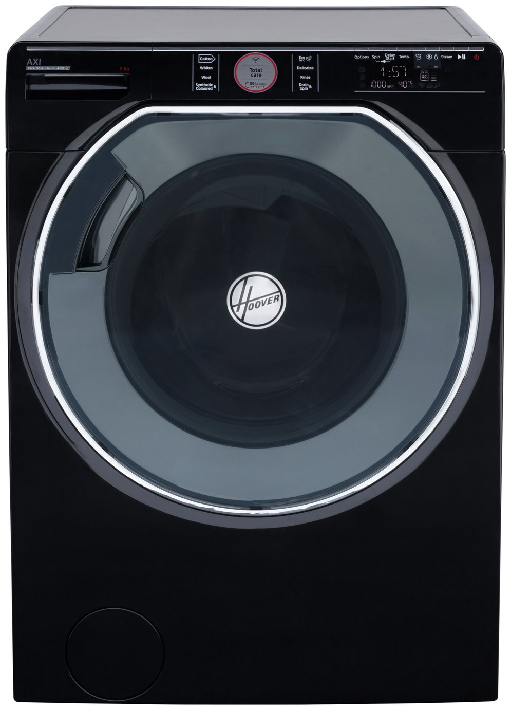 Hoover AXI AWMPD69LH7B 9KG 1600 Spin Washing Machine - Black