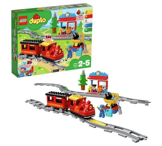 Buy Lego Duplo Town Steam Train Toy Building Set 10874 Lego Argos