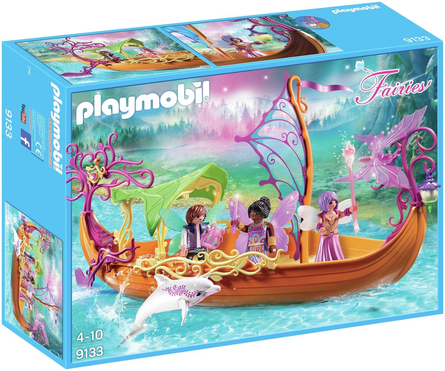 Playmobil 9133 Fairies Enchanted Fairy Ship