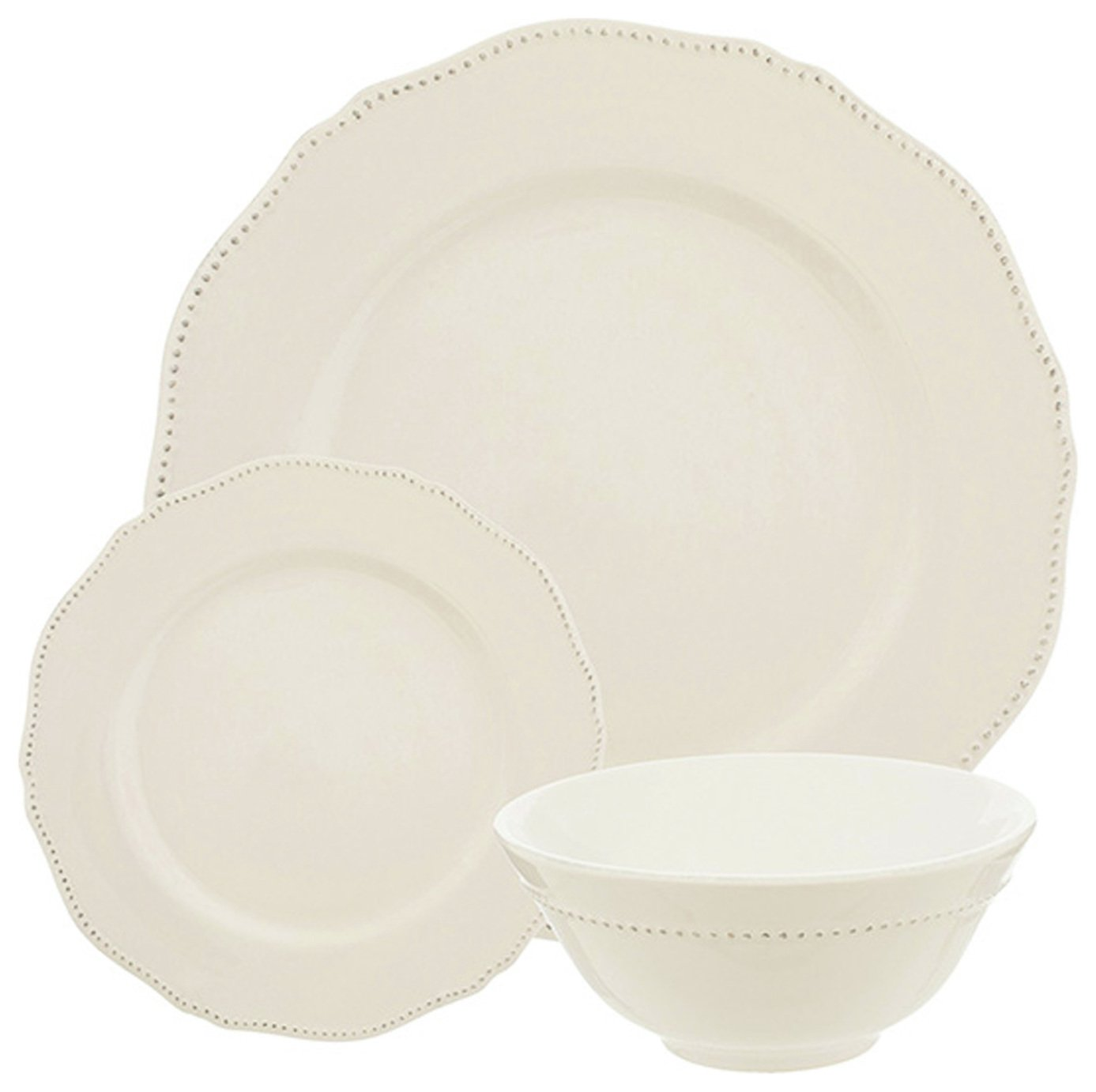 Sainsbury's Home 12 Piece Palatial Dinner Set