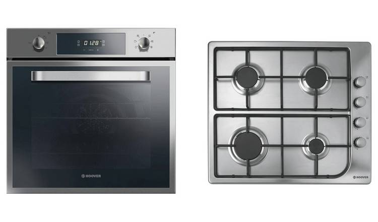 Hoover HPRGM60SS Gas Hob with Multifunction Oven