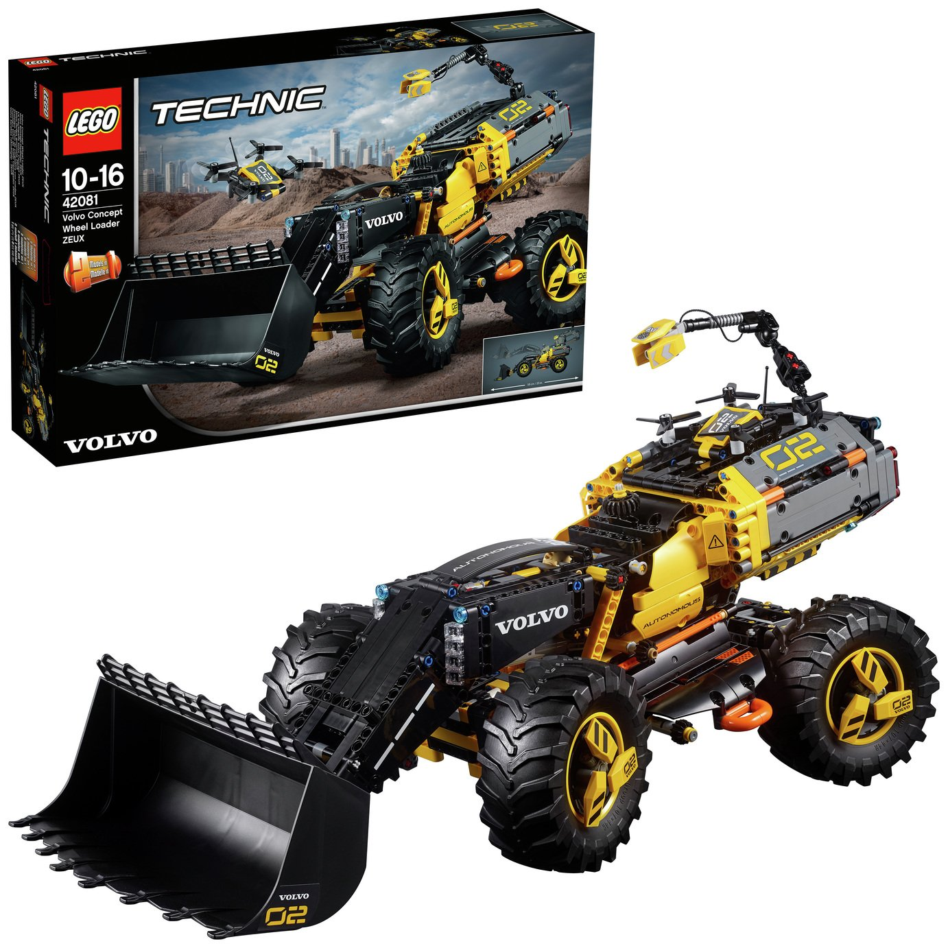 LEGO Technic Volvo Concept Wheel Loader Toy - 42081
