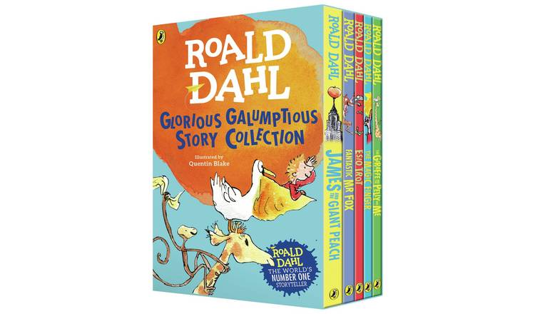 Roald Dahl Glorious Galumptious Collection Paperback Box Set