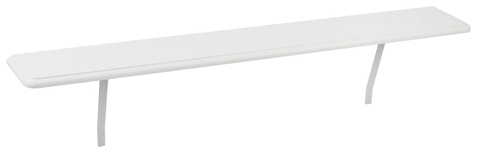 Argos Home Medium Radiator Shelf - White
