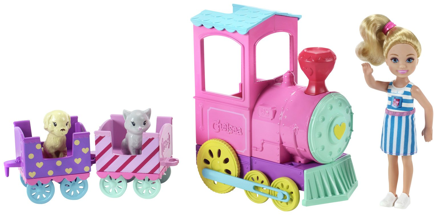 Barbie Club Chelsea Train Playset
