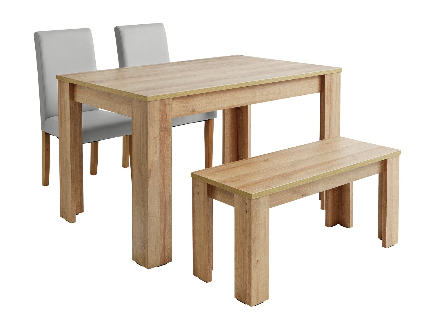 Buy Argos Home Miami 120cm Dining Table, Bench U0026 Chairs | Dining Table And  Chair Sets | Argos