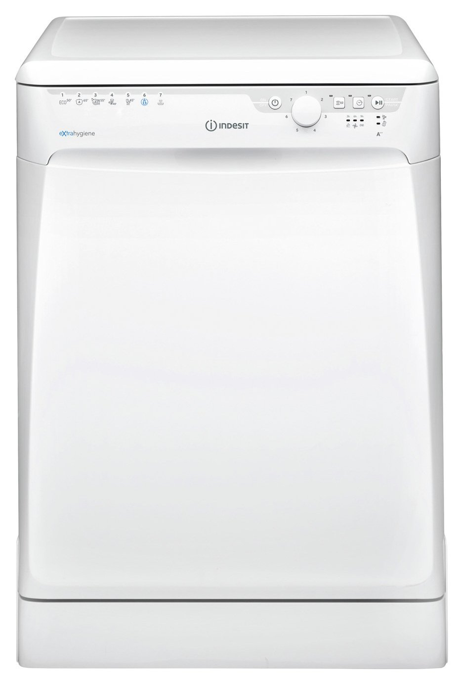 Indesit DFP27T96Z Full Size Freestanding Dishwasher - White