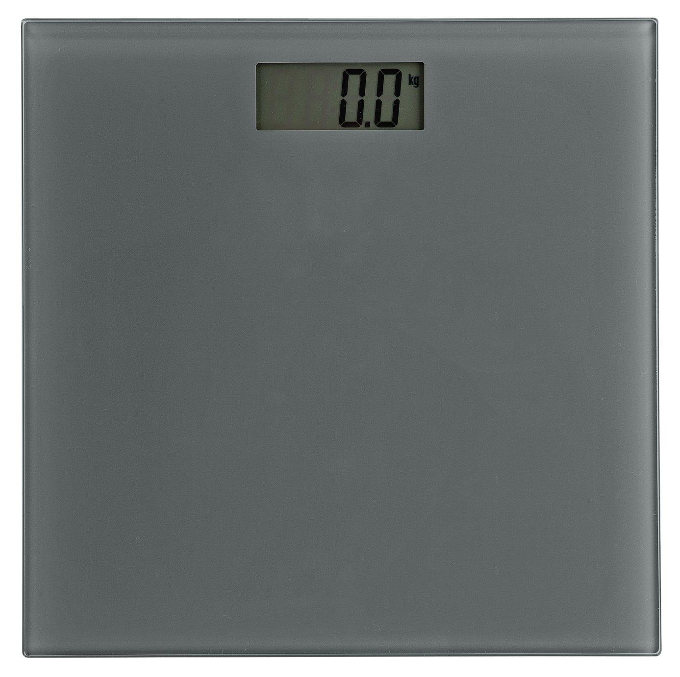 Argos Home Electronic Bathroom Scales - Grey