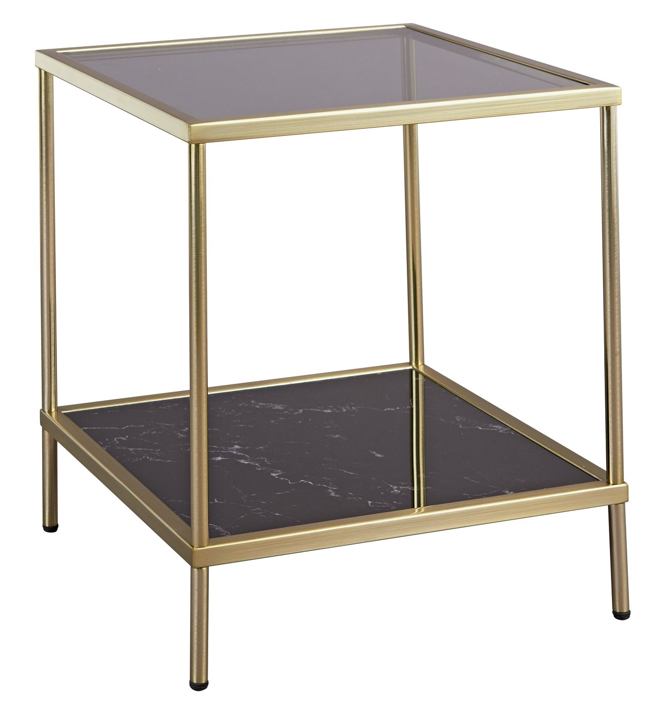Argos Home Midnight Opulence End Table - Bronze