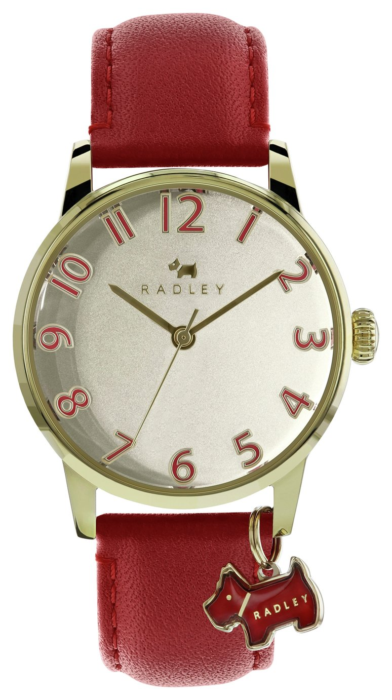 Radley Ladies' Blair RY2250 Red Leather Strap Watch