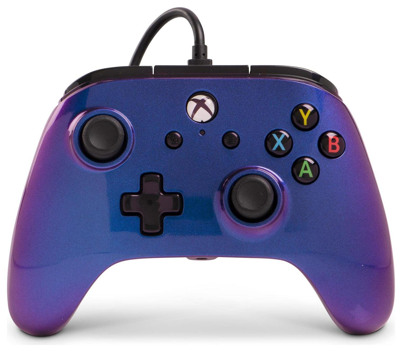 Enhanced Wired Controller for Xbox One - Cosmos Nebula