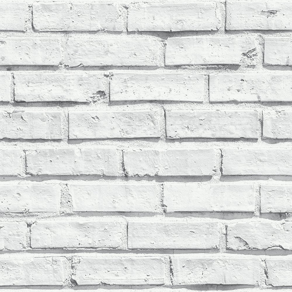 Arthouse White Brick Wallpaper. review