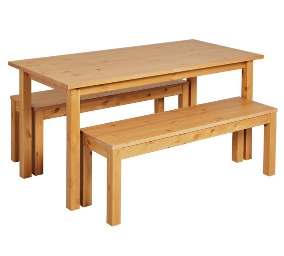 Argos Home Ashdon Dining Table and Bench Set review