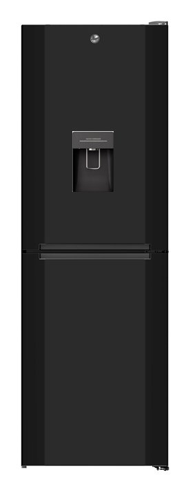 Hoover H1826MNB5BWK No Frost Fridge Freezer - Black Best Price, Cheapest Prices