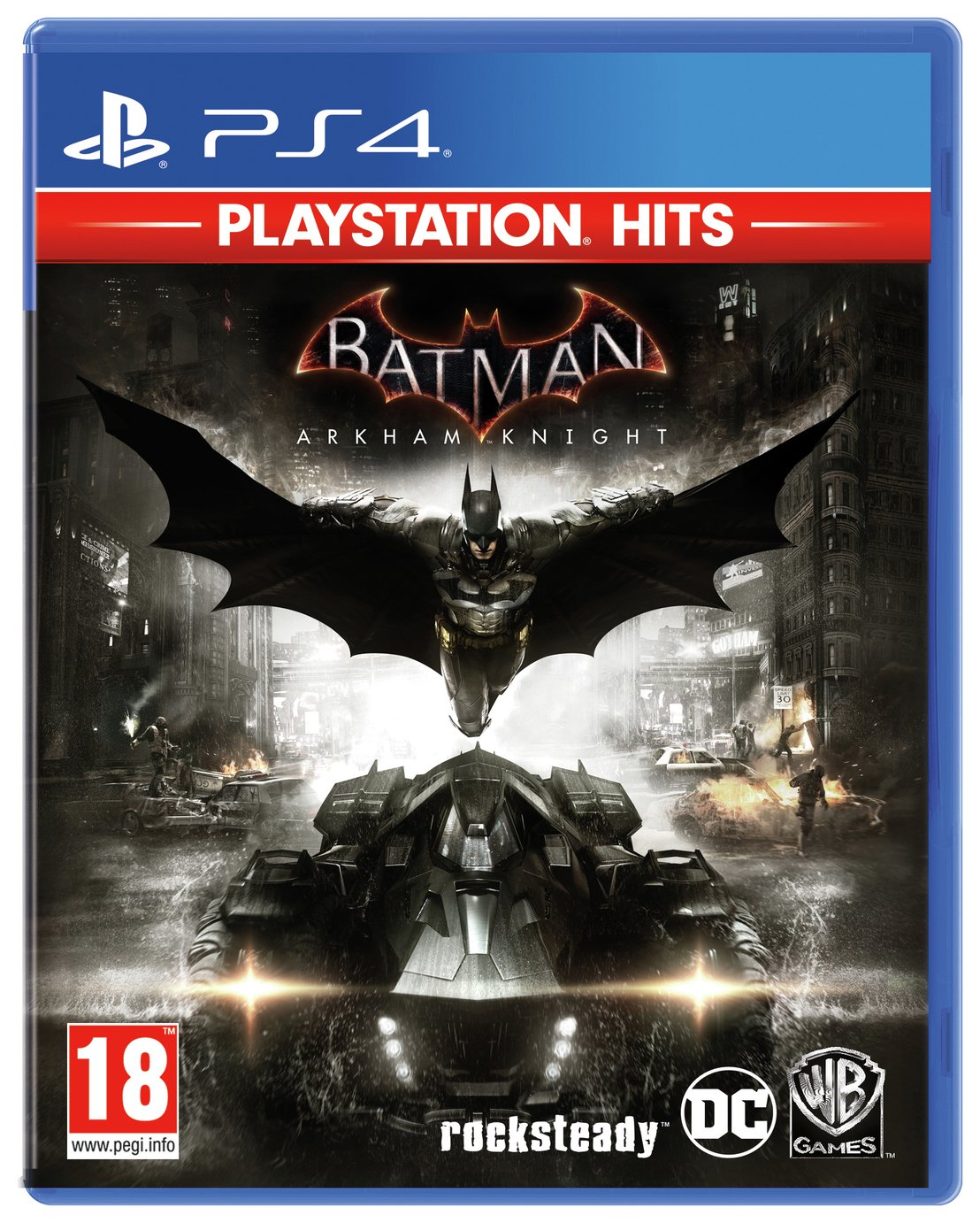 Batman Arkham Knight PS4 Hits Game review
