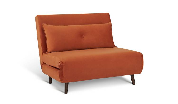 Habitat Roma Small Double Chairbed - Orange