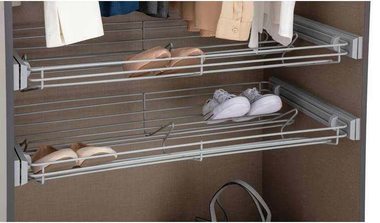 Habitat Munich Double Shoe Rack - 2 Pack