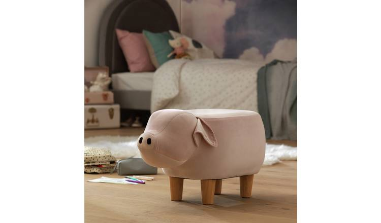 Argos Home Paul the Pig Stool