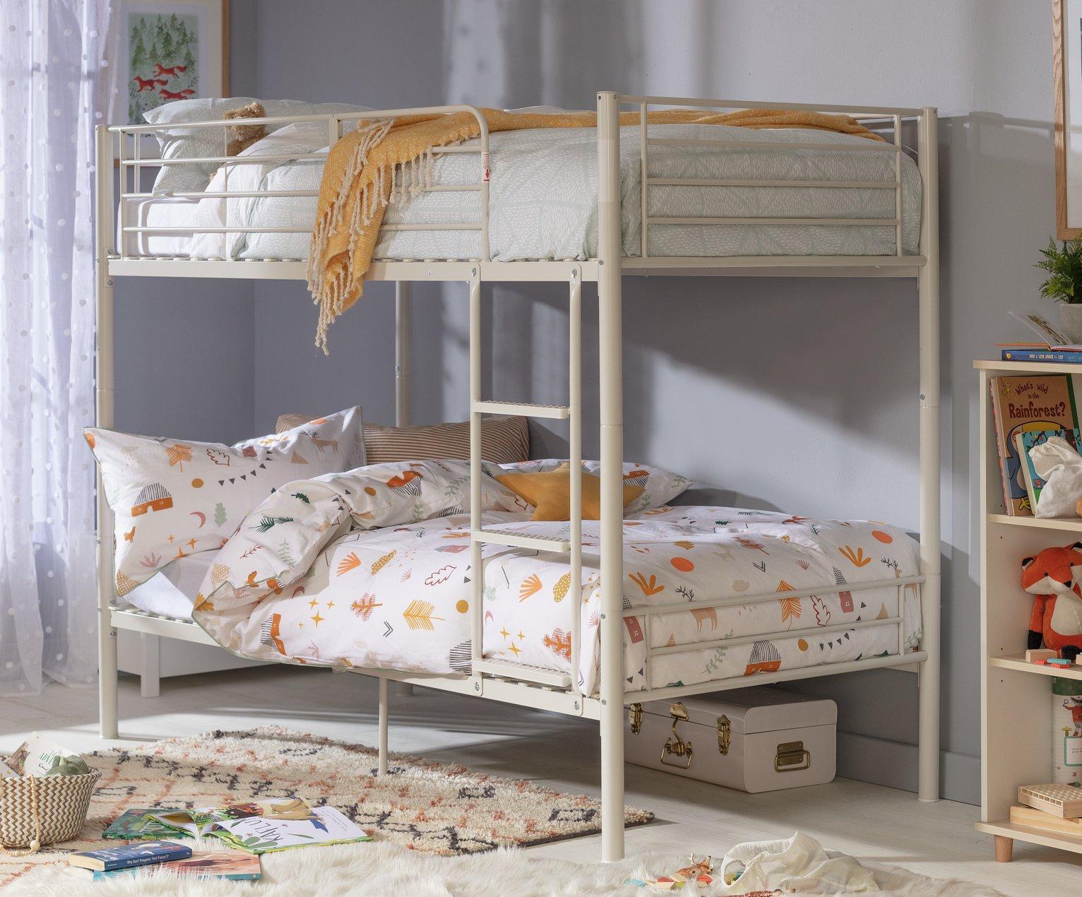 Argos Home Mason Take Home Today Metal Bunk Bed - White