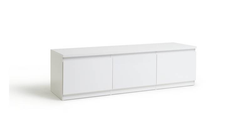 Habitat Jenson 1 Door 2 Drawer TV Unit - White