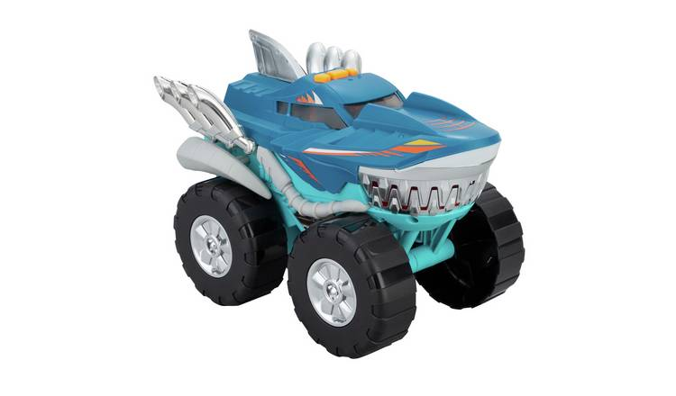 Chad Valley Shark Motorised Lights & Sounds Vehicle - Blue