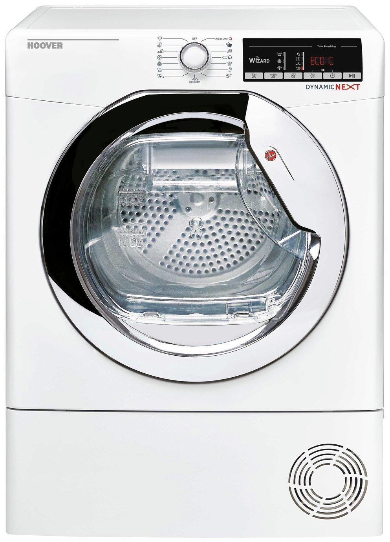 Hoover DXO C10TCE 10KG Condenser Tumble Dryer - White