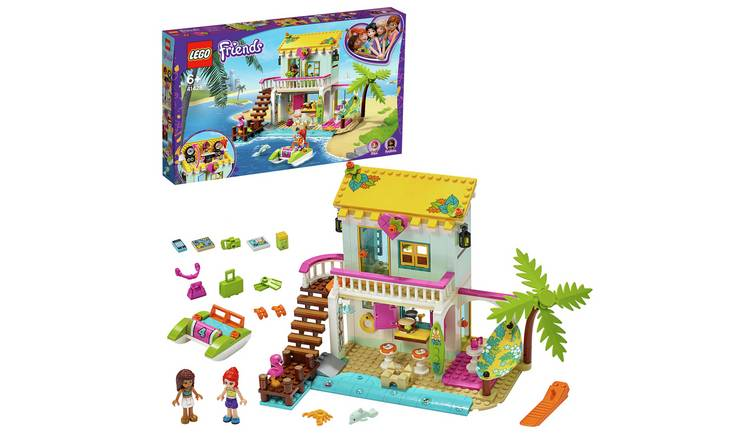 LEGO Friends Beach House Mini Dollhouse Playset -41428