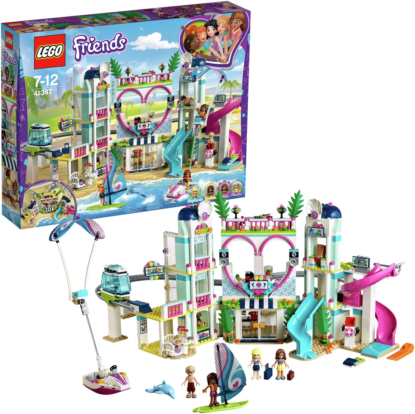 LEGO Friends Heartlake City Resort Hotel Playset - 41347