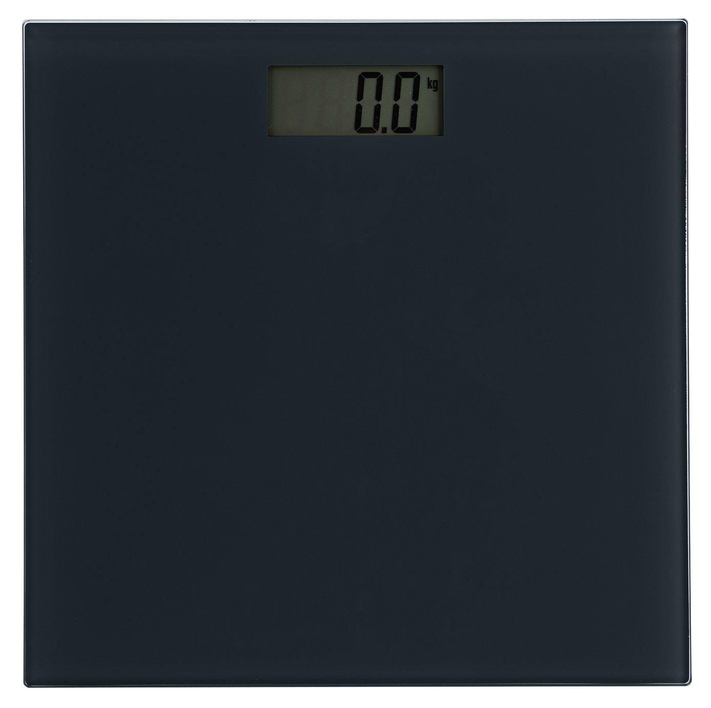 Argos Home Electronic Bathroom Scales - Black