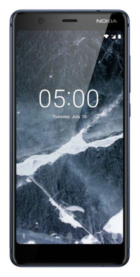 SIM Free Nokia 5.1 16GB Mobile Phone - Blue