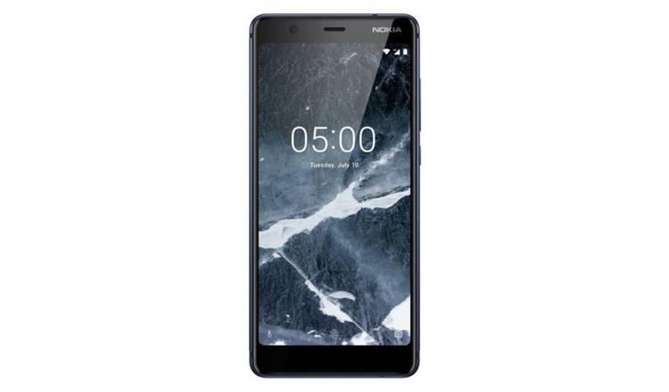 premium selection 8cf22 bf929 Buy SIM Free Nokia 5.1 16GB Mobile Phone - Blue | Mobile phones and  accessories | Argos