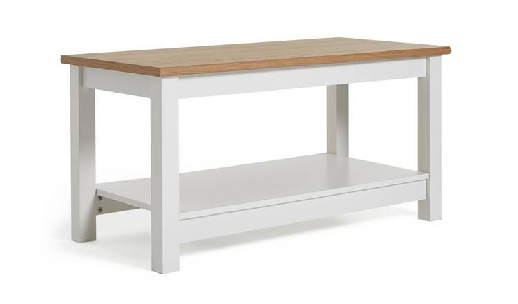 Buy Argos Home Winchester Coffee Table White Coffee Tables Side
