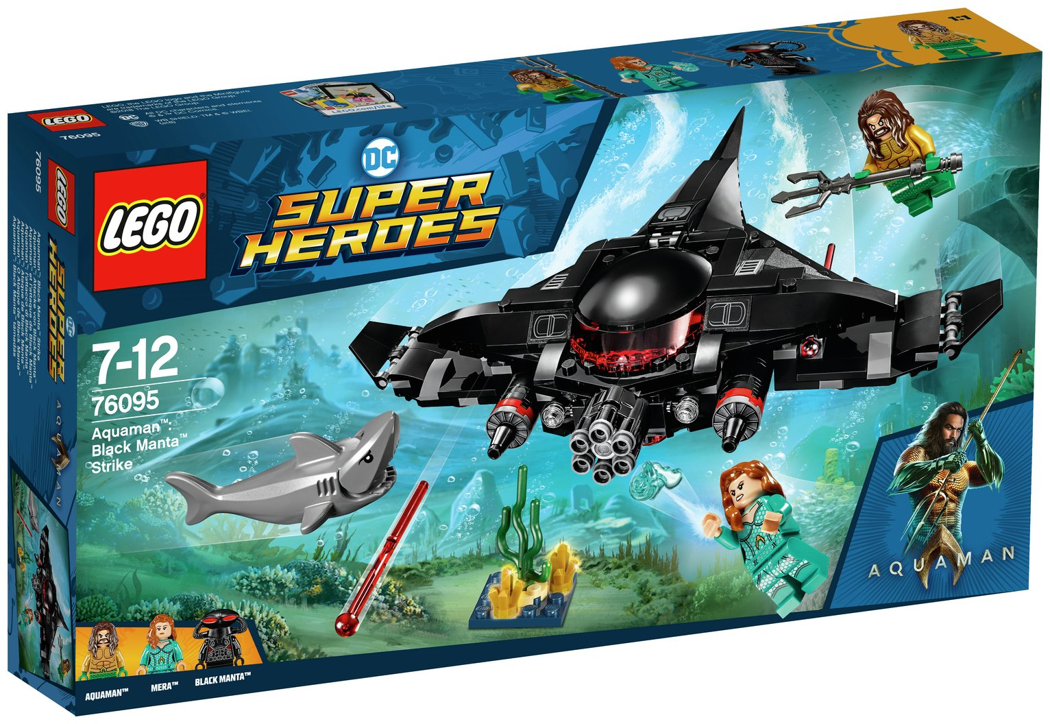 LEGO Super Heroes Aquaman: Black Manta Strike Boat Set-76095