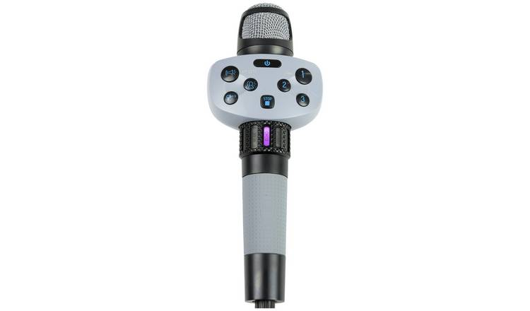 Singing Machine Wired Voice Changing and Effects Karaoke Mic