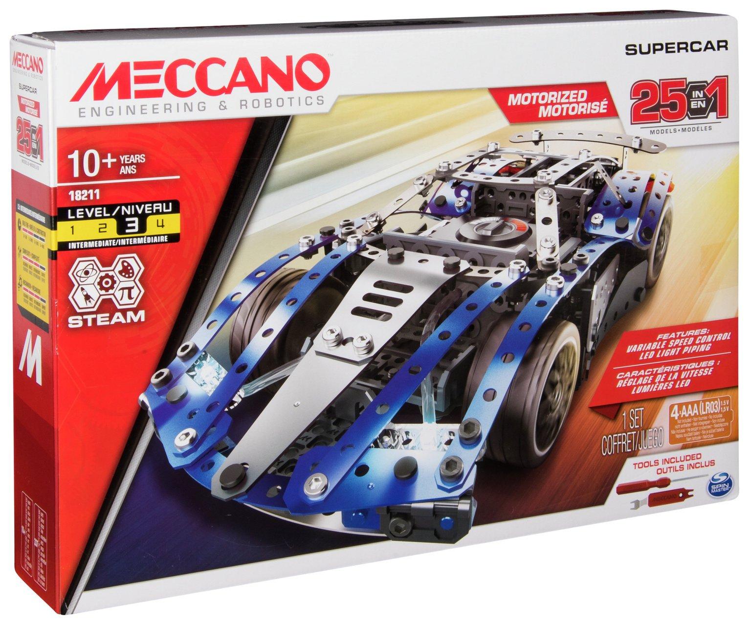 Meccano 25 Model Supercar
