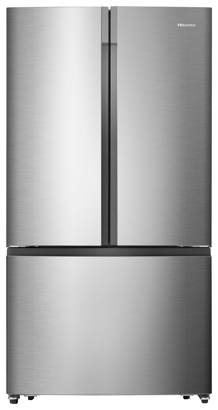 Hisense RF715N4AS1 American Fridge Freezer - Stainless Steel