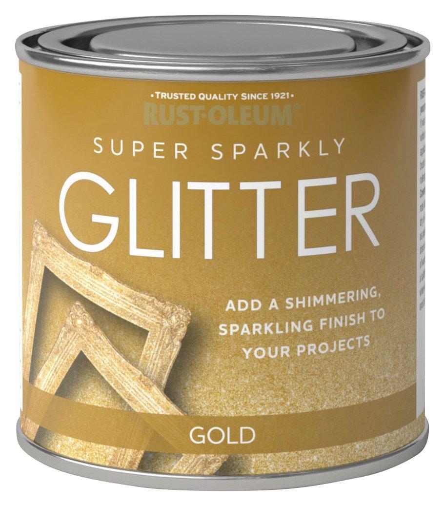 Rust-Oleum Super Sparkly Glitter Paint 250ml - Gold