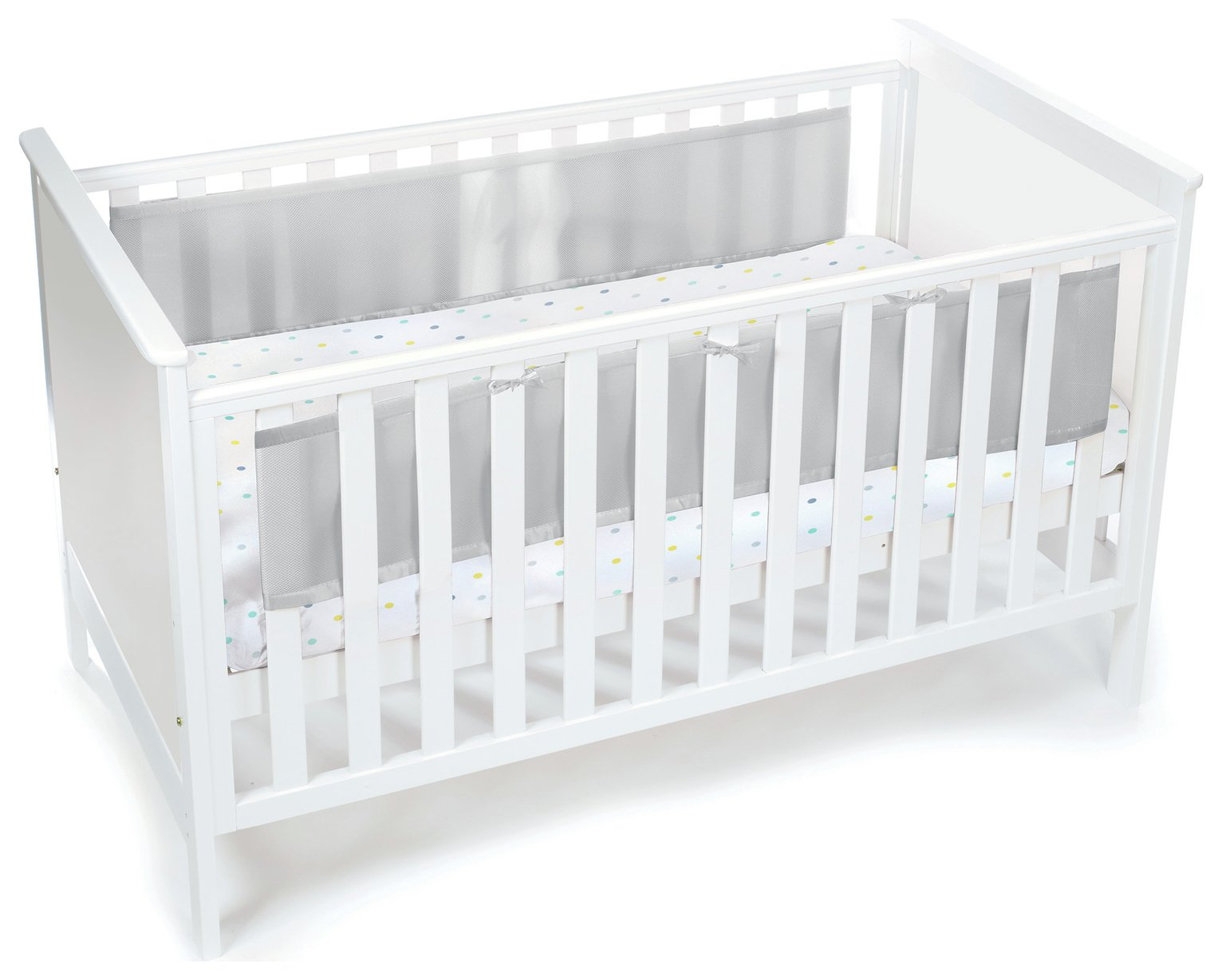 BreathableBaby 2 Sided Mesh Liner - Grey
