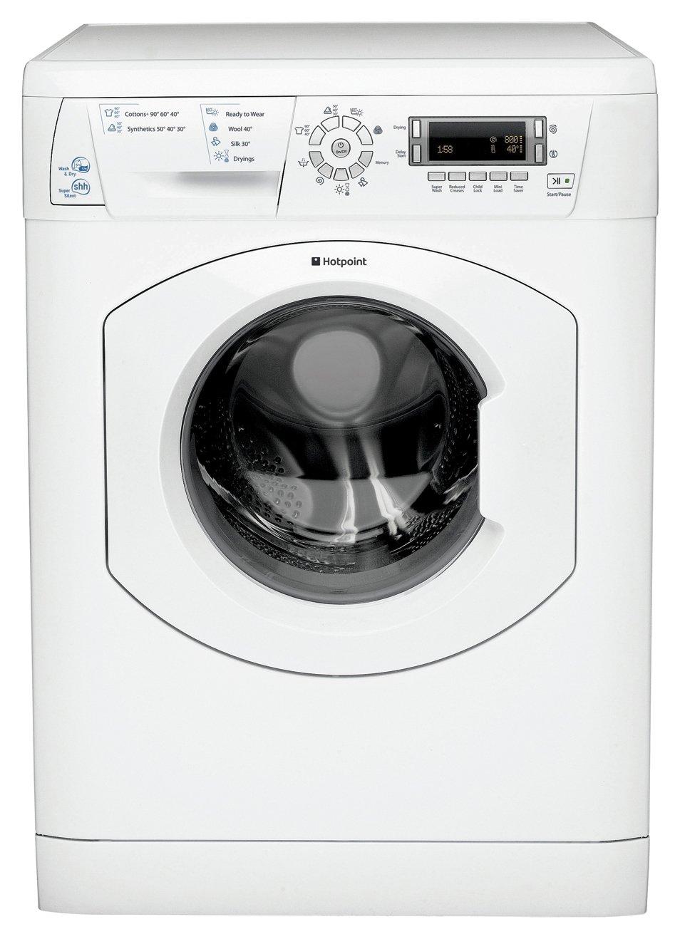 Hotpoint Aquarius WDD750P 5KG 1400 Washer Dryer - White