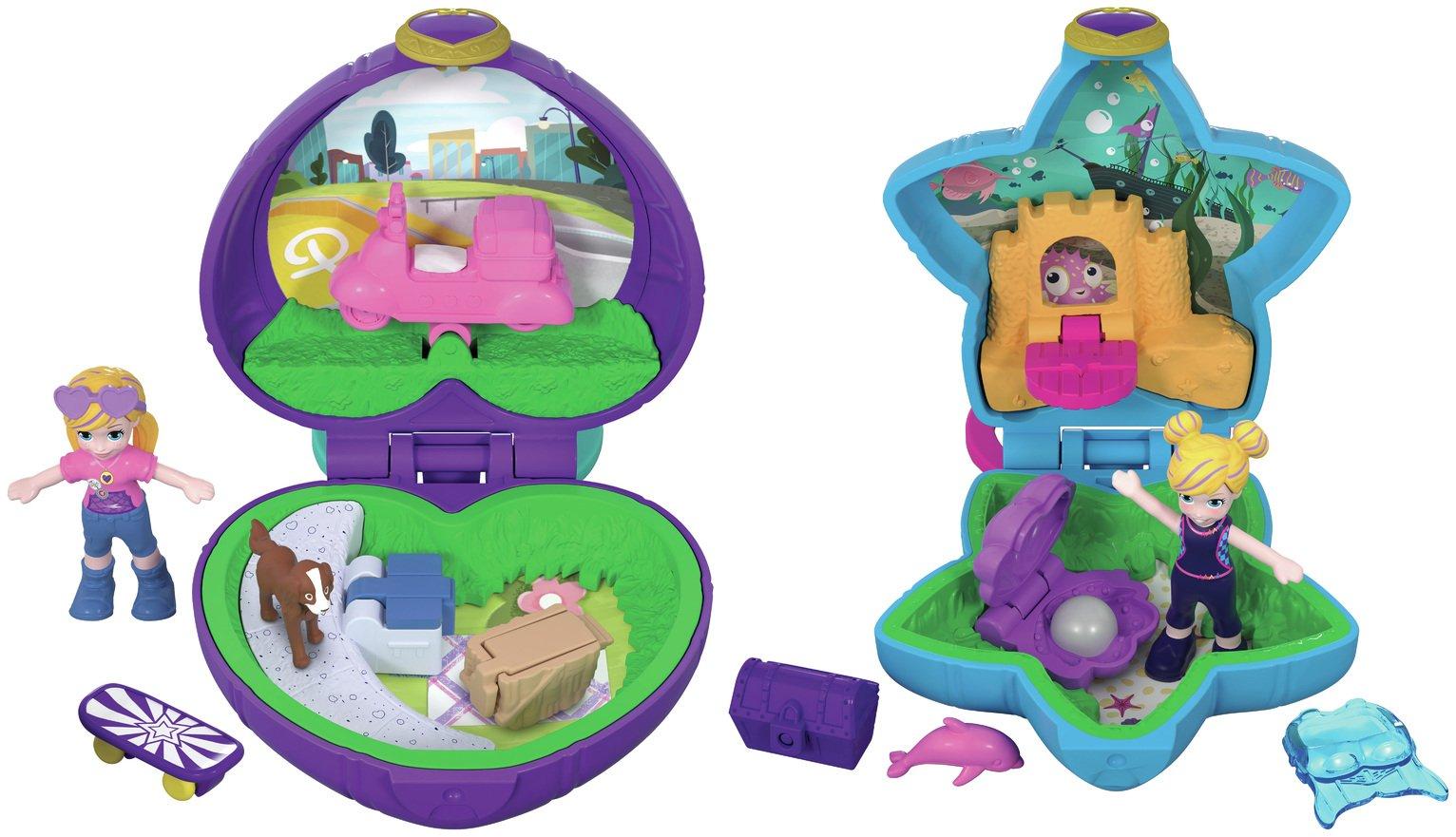 Polly Pocket Lila Shani Tiny Places - 2 pack