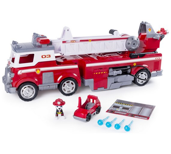 buy paw patrol ultimate rescue fire truck playset toy cars