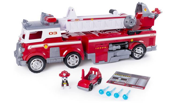 Buy PAW Patrol Ultimate Rescue Fire Truck Playset | Toy cars, vehicles and  sets | Argos