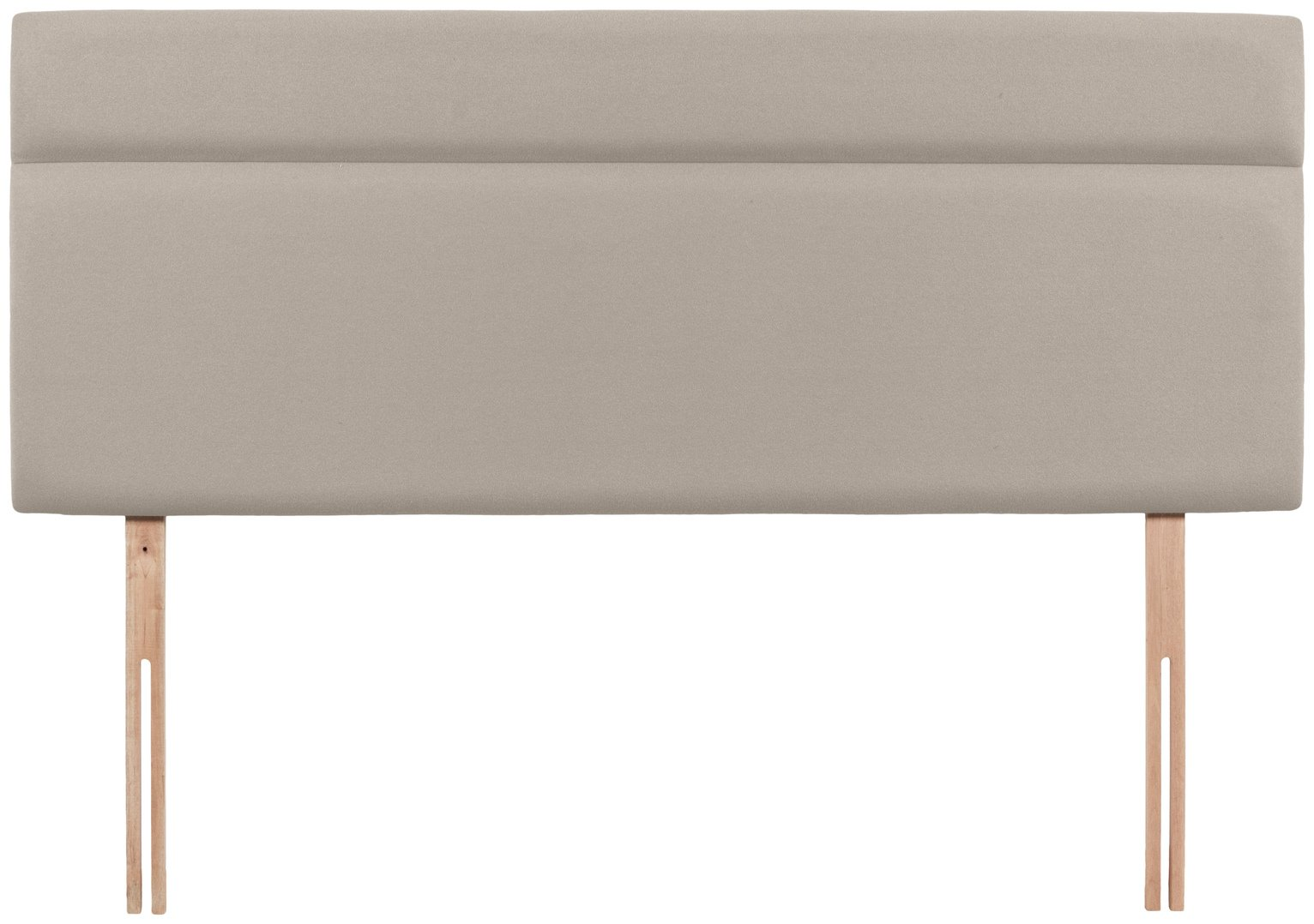 Airsprung Nile Small Double Headboard - Sandstone