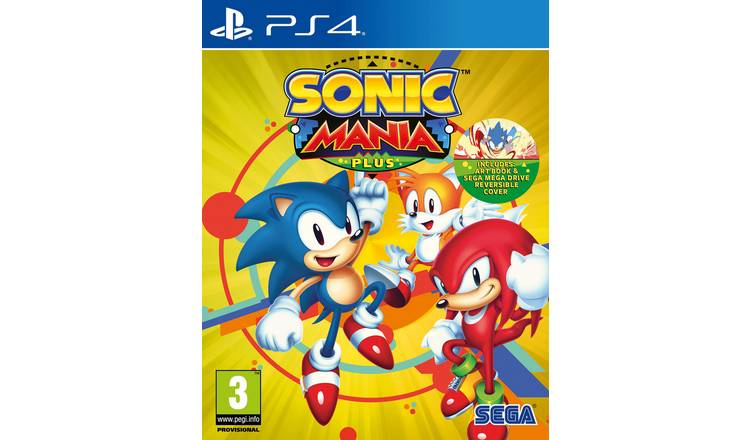 Buy Sonic Mania Plus PS4 Game | PS4 games | Argos